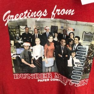 """The Office"" Christmas tee Brand New-Sz Medium"